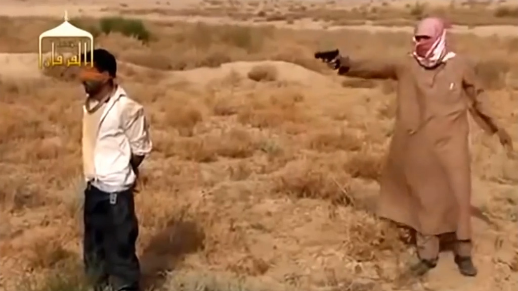Summary execution from Isis video (picture: Youtube)