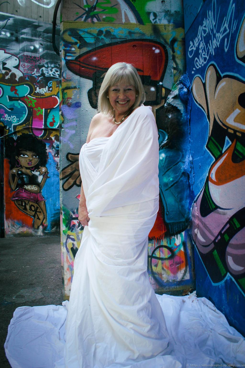 Beauty in older women: Margaret, 67