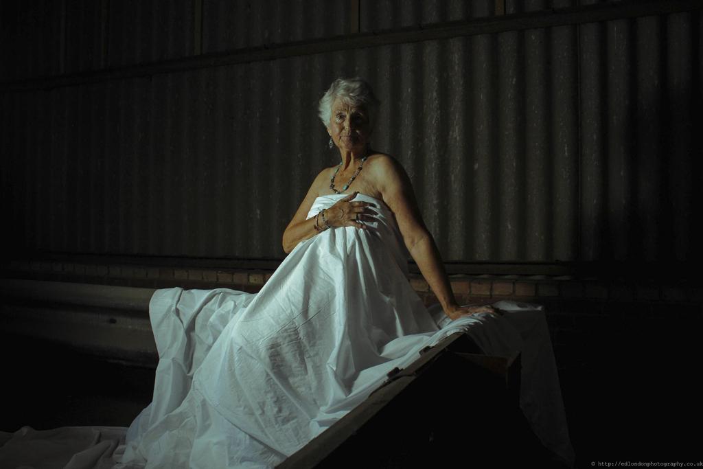 Beauty in older women: Vikki, 70