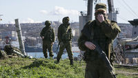 Russian soldiers in Sevastopol (Reuters)