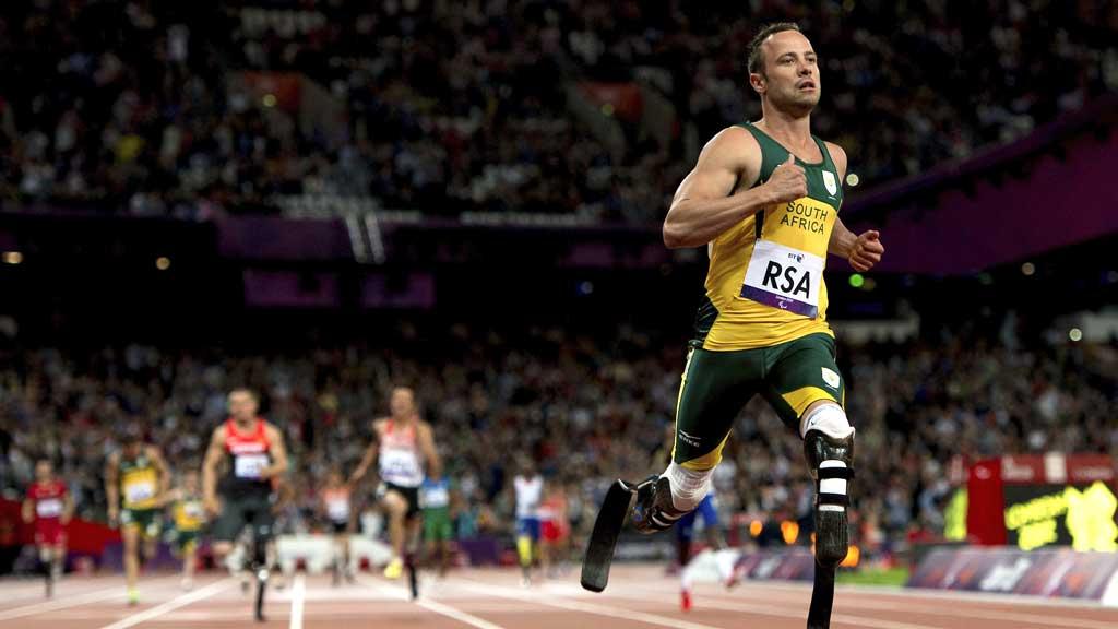 'Blade runner' Pistorius (G)