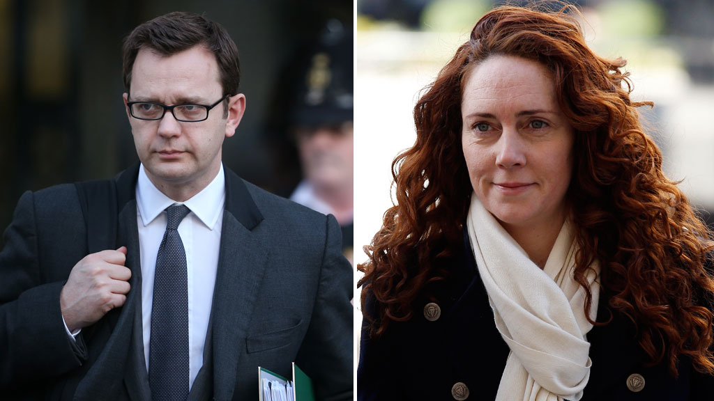 Andy Coulson and Rebekah Brooks (Getty)