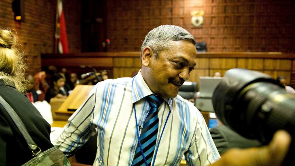 Lieutenant General Vinesh Moonoo in court (G)
