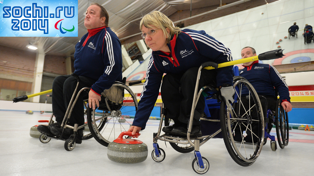 Curling ahead of the Sochi Paralympics (Getty)