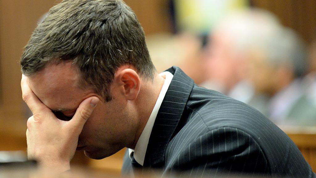 Oscar Pistorius in court (Reuters)