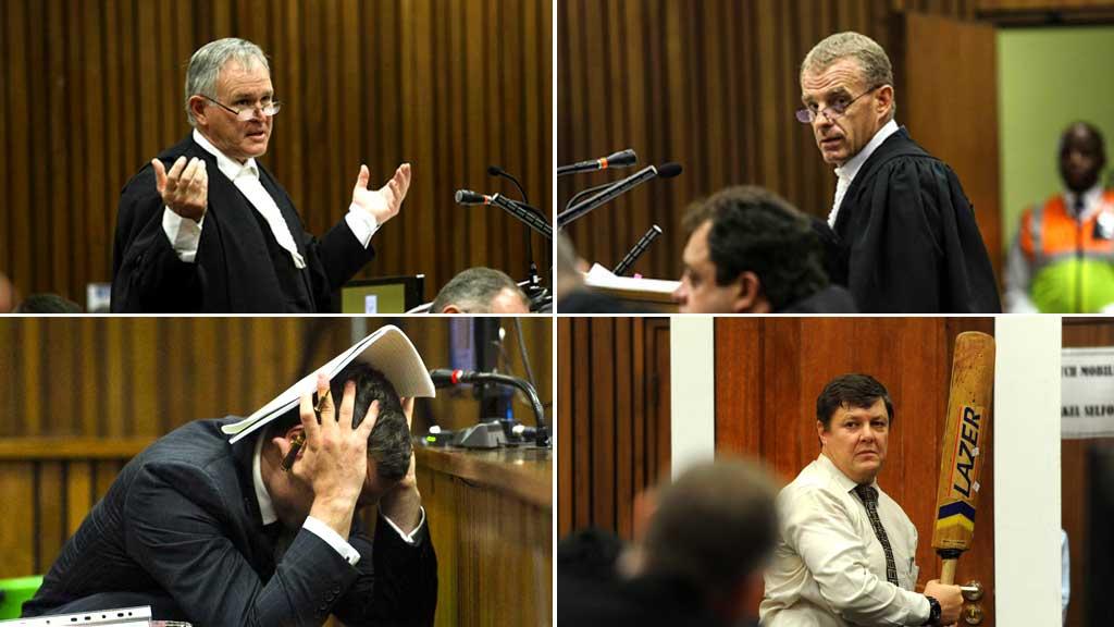 Oscar Pistorius Trial Oscar Pistorius trial five