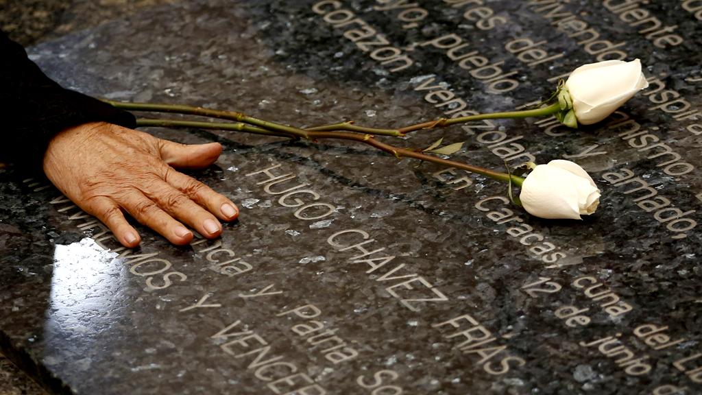 Hugo Chavez's grave (Reuters)