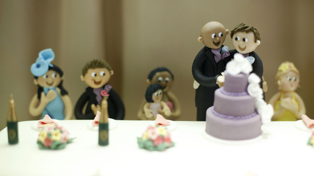 Gay wedding cake (Reuters)