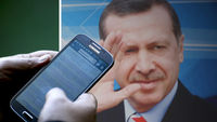Turkey bans Twitter (pictures: Getty)