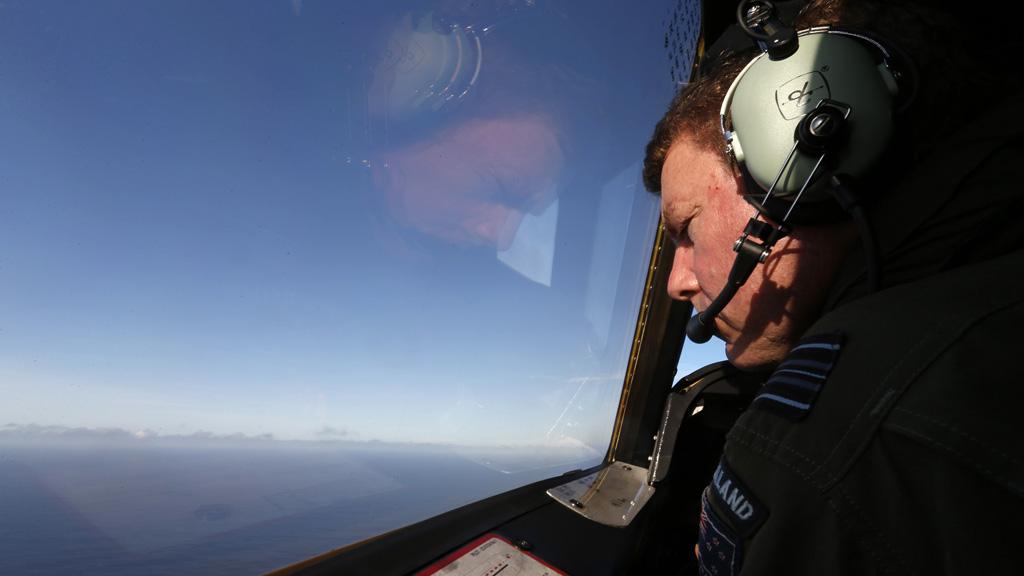 New Zealand Air Force pilot (Reuters)