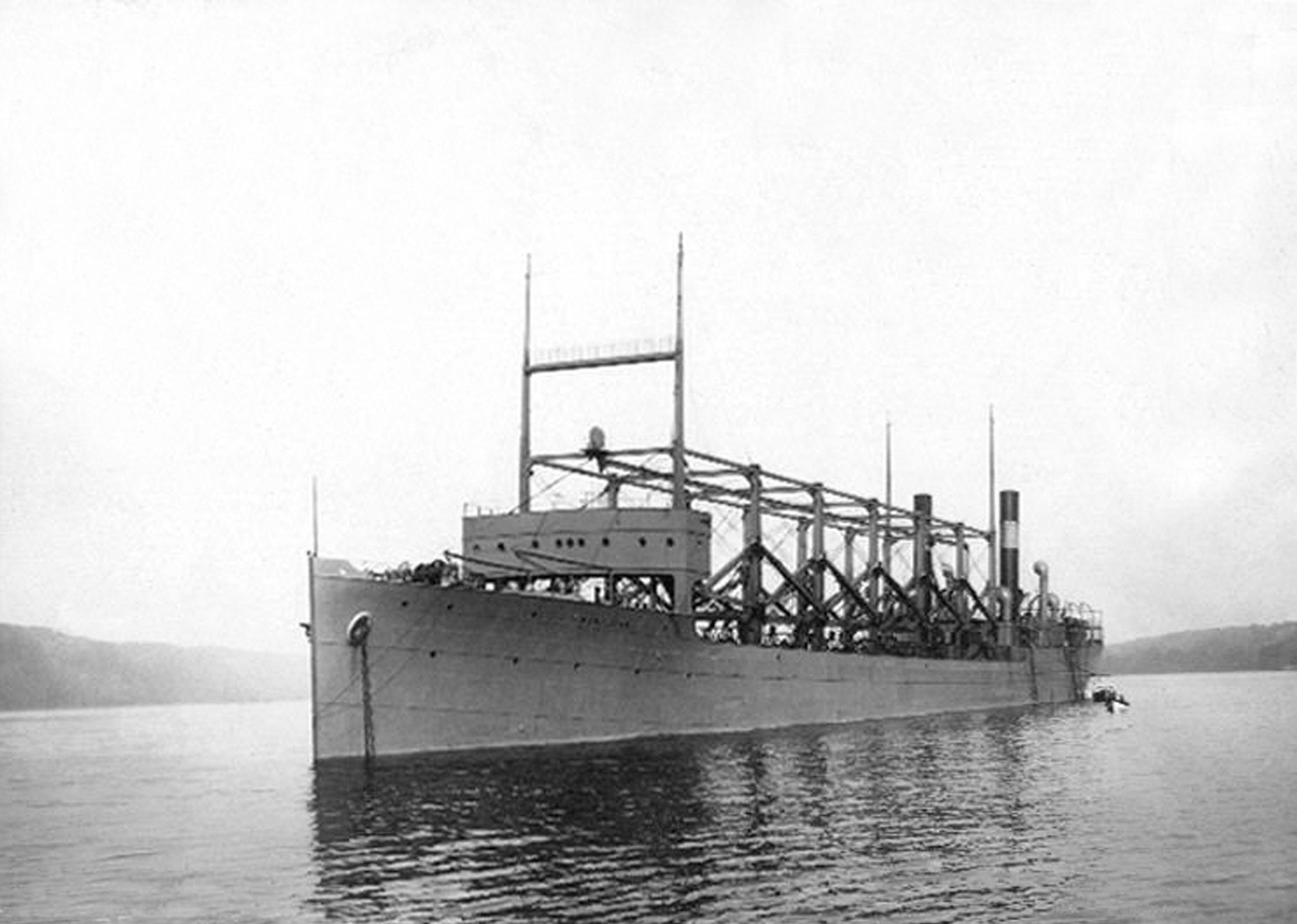 The USS Cyclops (Getty)