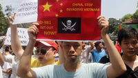 Vietnamese protester (Reuters)