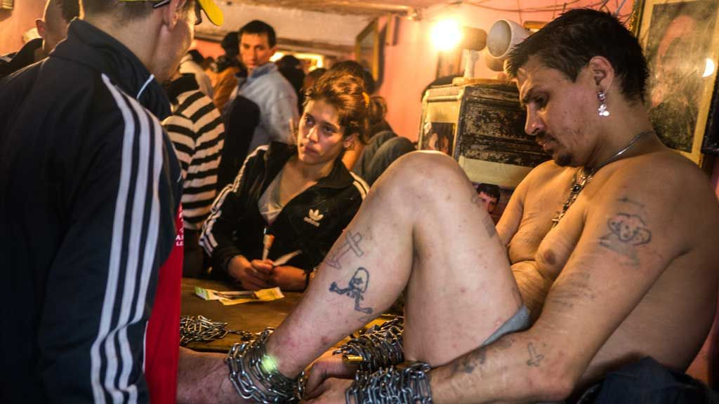 The streets gangs of Bucharest, who live in the sewers