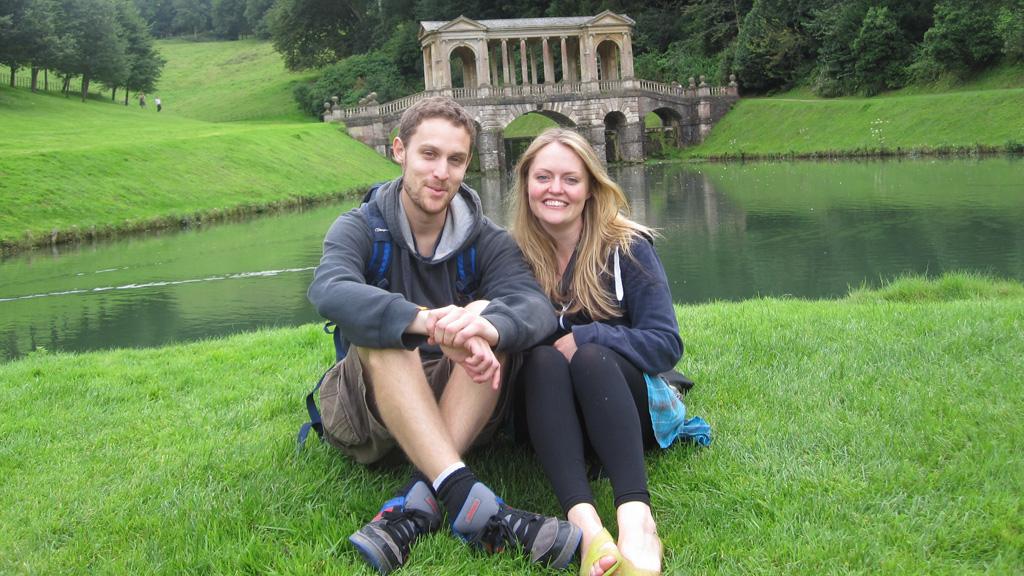 Mike Brandon and Kate Robertson