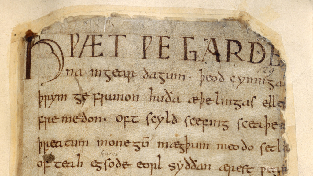 Beowulf manuscript (Picture:Getty)