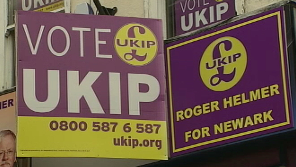 Newark by-election Ukip posters