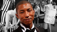 Pharrell Williams, Blurred Lines (pictures: Getty)