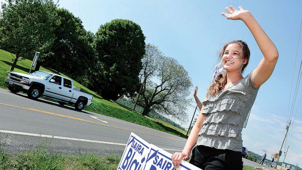 Saira Blair, the 18-year-old elected to West Virginia's state legislature