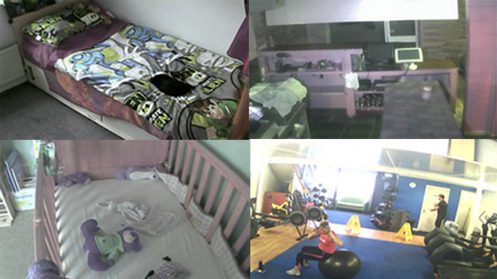 webcam montage