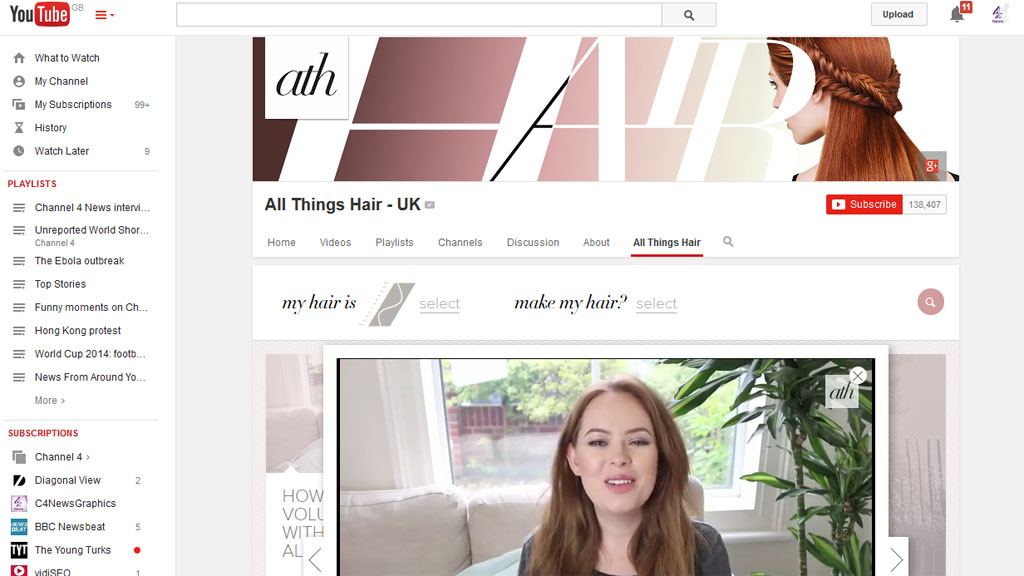 Tanya Burr screenshot