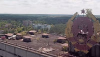 Stunning drone footage of deserted Chernobyl town - video