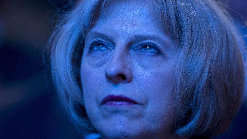 Image result for Theresa May looking evil