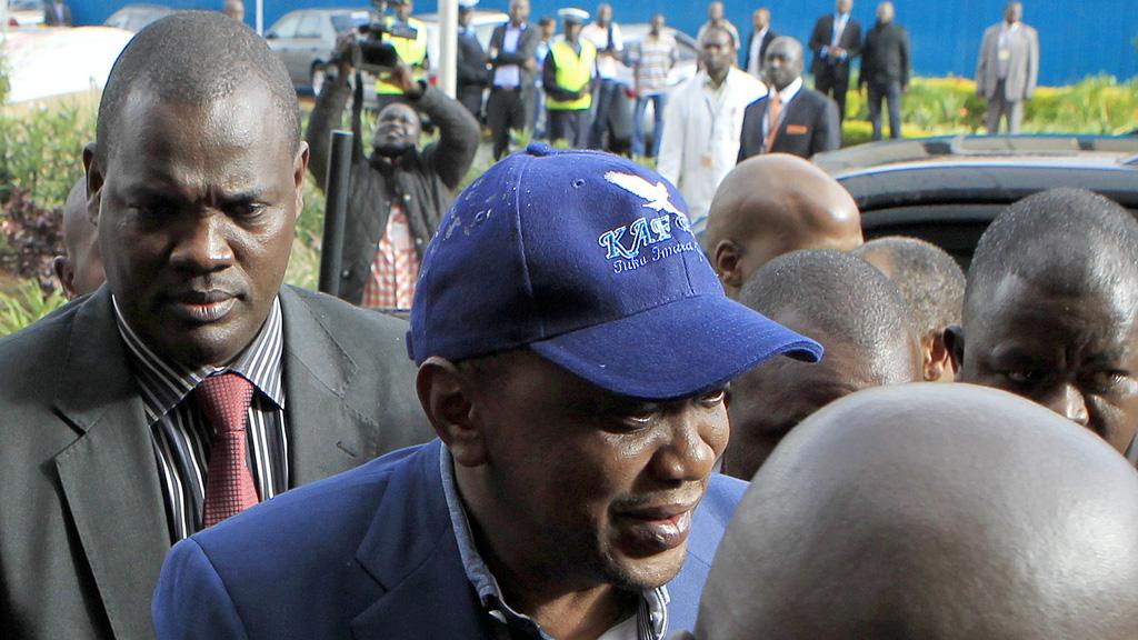 Kenyan President Uhuru Kenyatta (Reuters)
