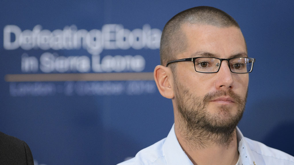 Will Pooley, the British nurse who survived Ebola (Reuters)