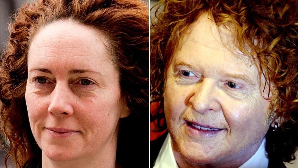 Rebekah Brooks and Mick Hucknall