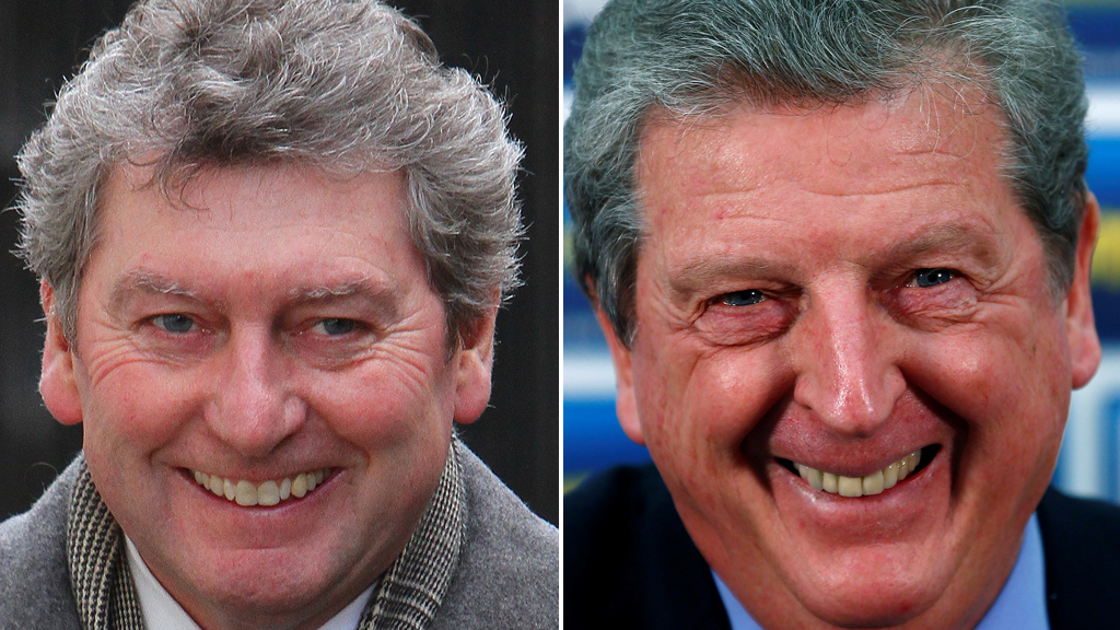 Colin Myler and Roy Hodgson