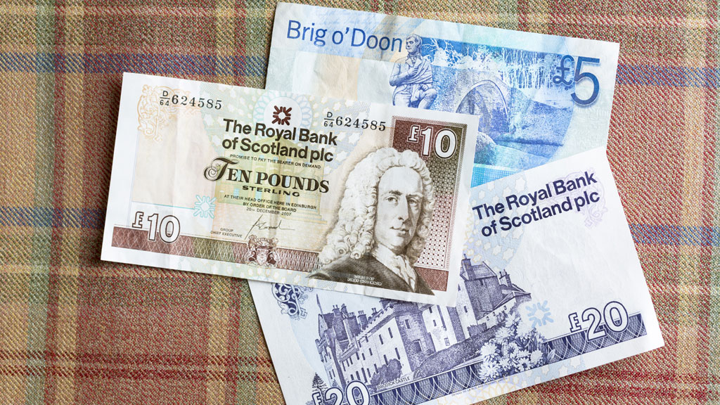 An opinion poll showing a small majority in favour of Scottish independence led to a fall in the value of the pound and Scottish bank shares. A taste of things to come? (Getty)