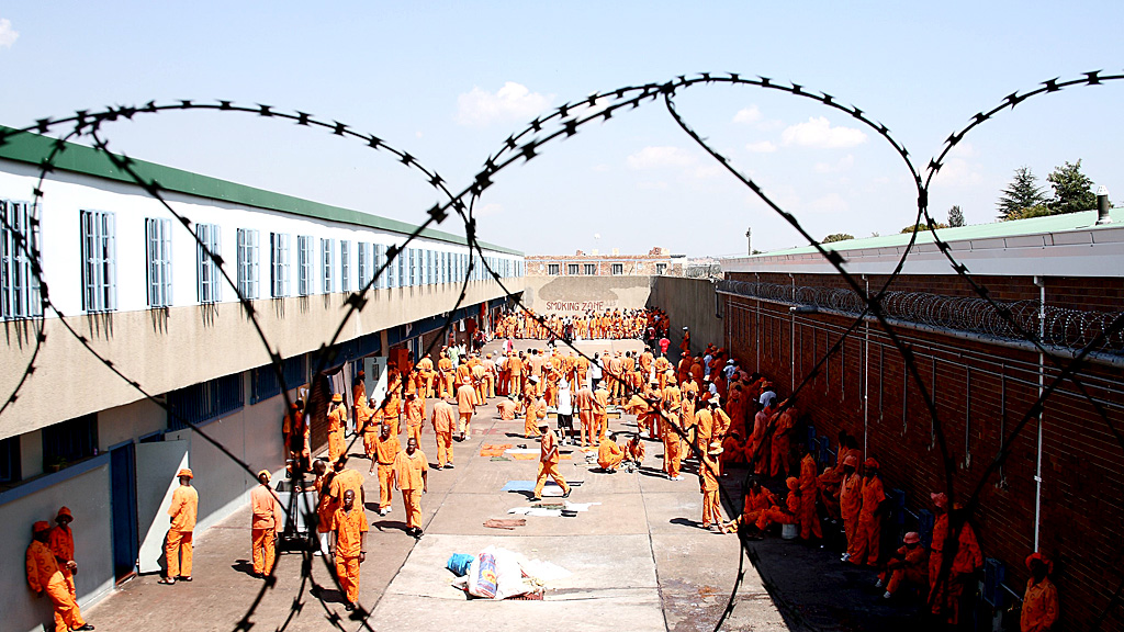 South Africa prison