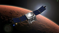 Nasa's Maven: credit - Goddard Space Flight Centre