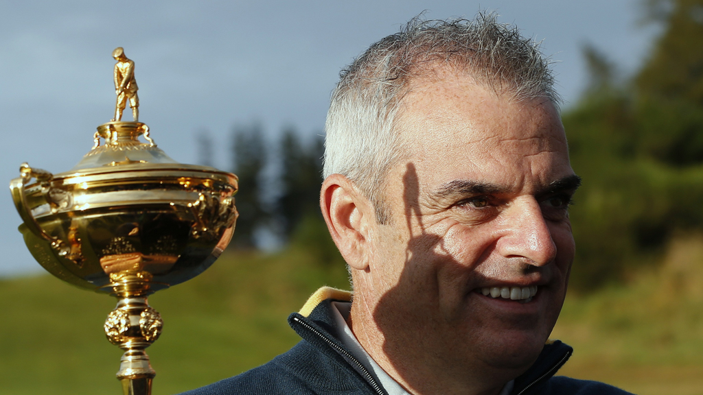 Europe Ryder Cup captain Paul McGinley (Reuters)