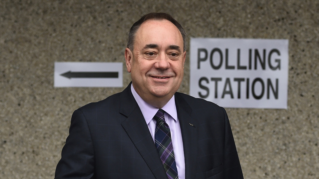 SNP Westminster leader Alex Salmond (Reuters)