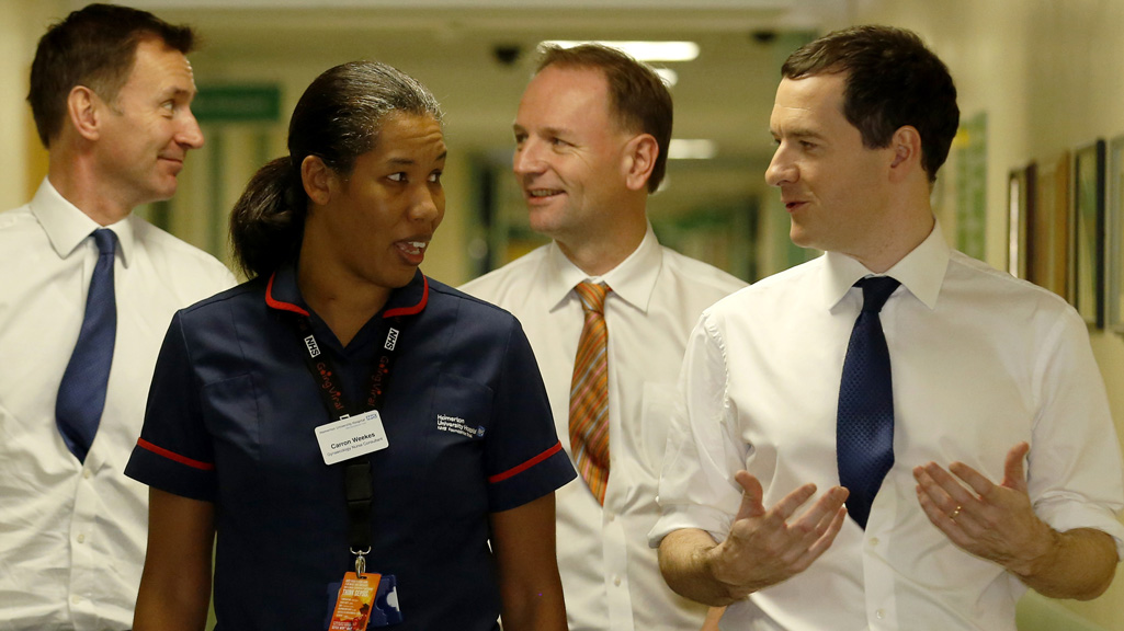 Jeremy Hunt and George Osborne (Reuters)