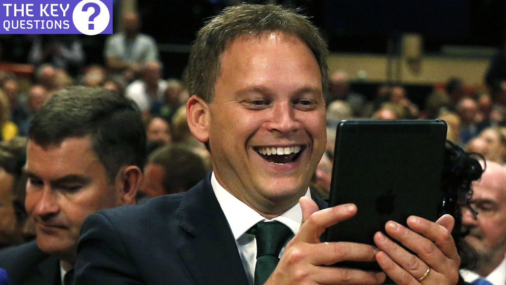 Grant Shapps Wikipedia edits claims