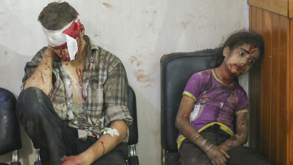Douma Syria attack victims