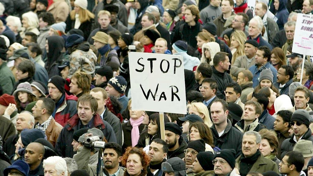 2003 Iraq war march