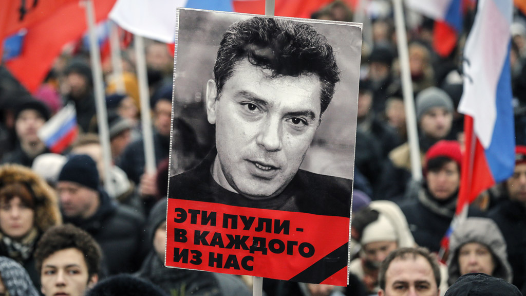 Boris Nemtsov rally (Reuters)