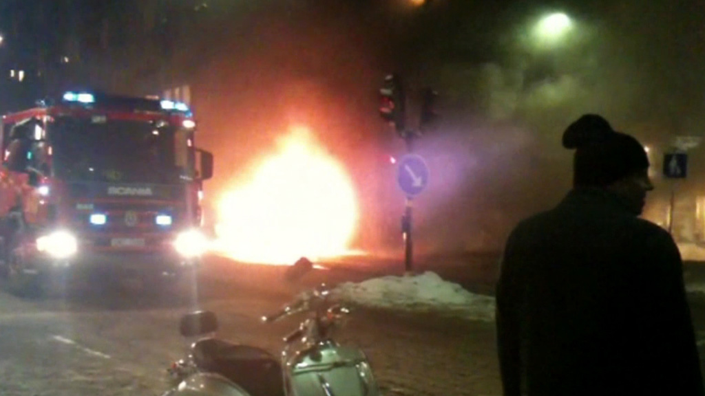 Stockholm car bomb (Getty)