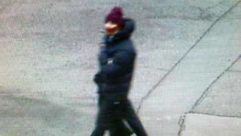 Danish Police picture of Copenhagen shooting suspect