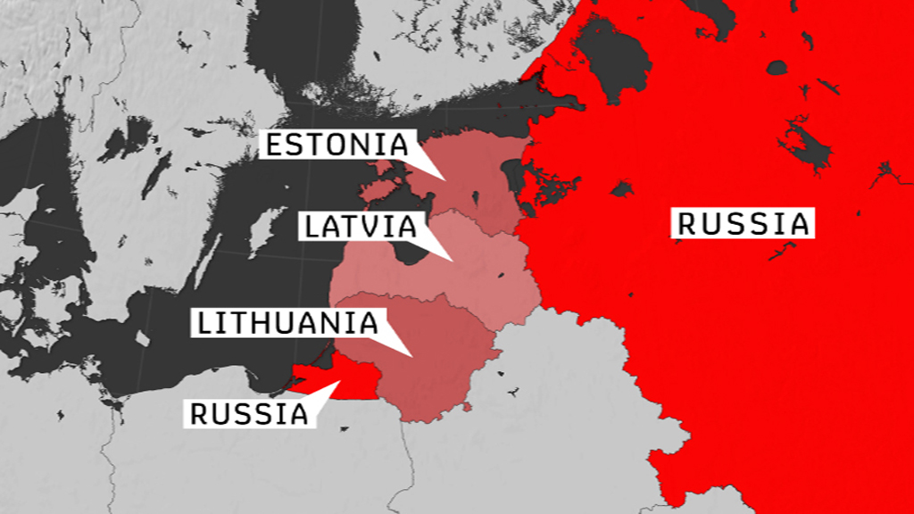 After Ukraine is Russia a threat to Baltic states  Channel 4 News