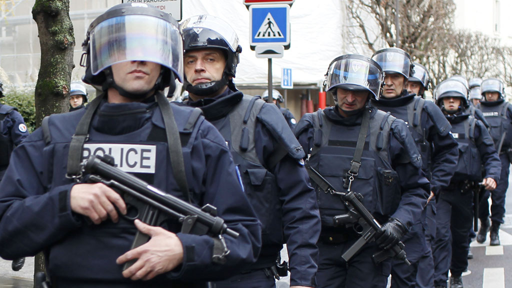 French intervention police (Reuters)