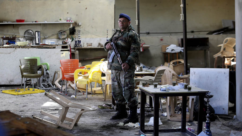Site of Tripoli Islamic State attack