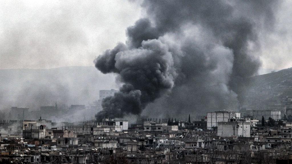 Kobani on 16 January 2015