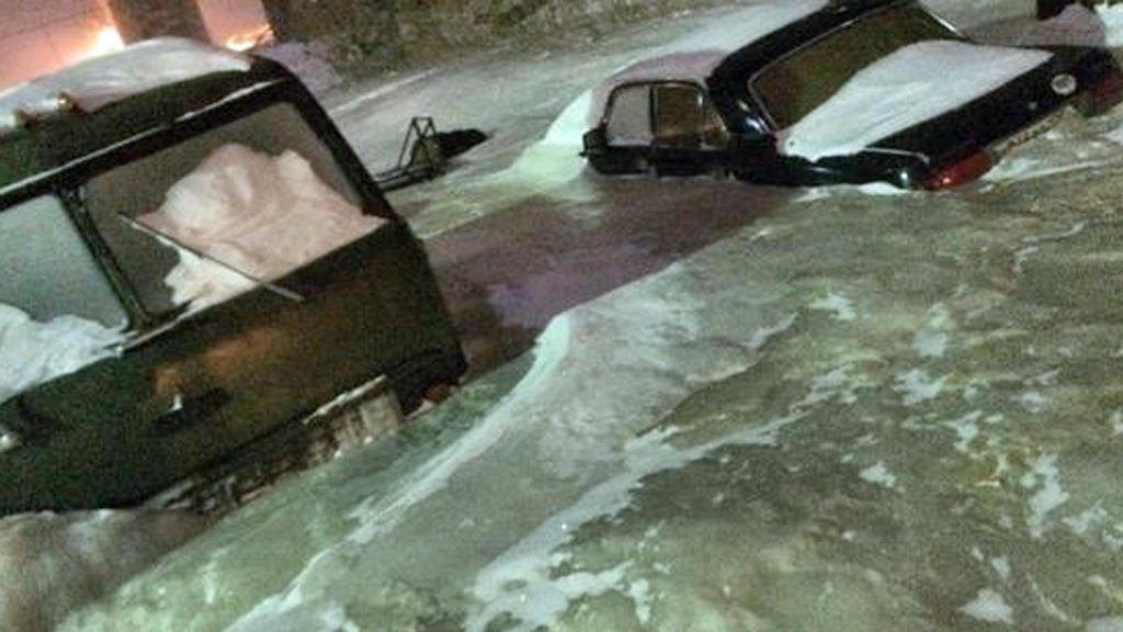 Welcome to Dudinka in Siberia: the city covered in ice - Channel 4 News