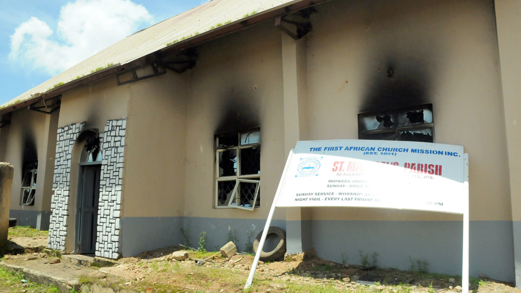 Church attacked by Boko Haram