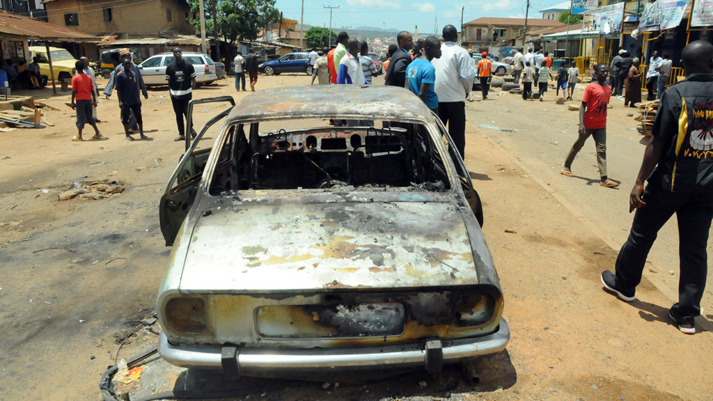 Boko Haram attack in Jos
