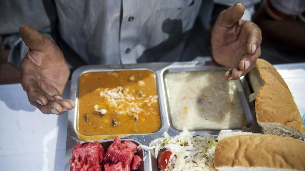 Ramadan meal in Kosovo (Getty)